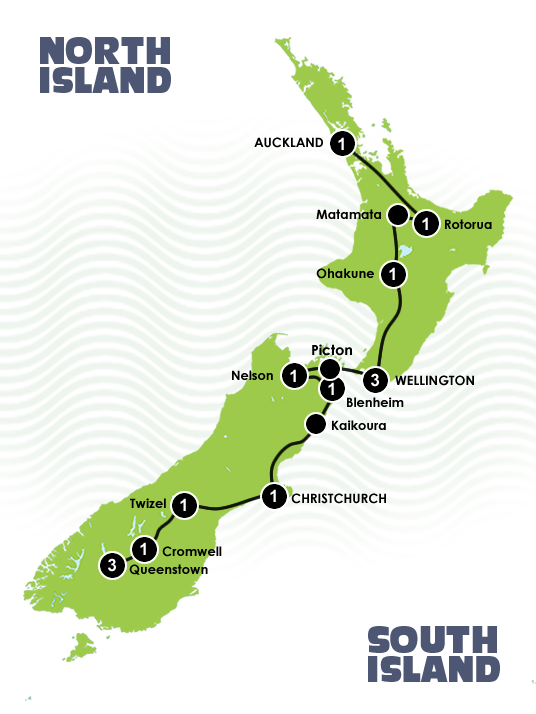 New Zealand S Lord Of The Rings Location Tour