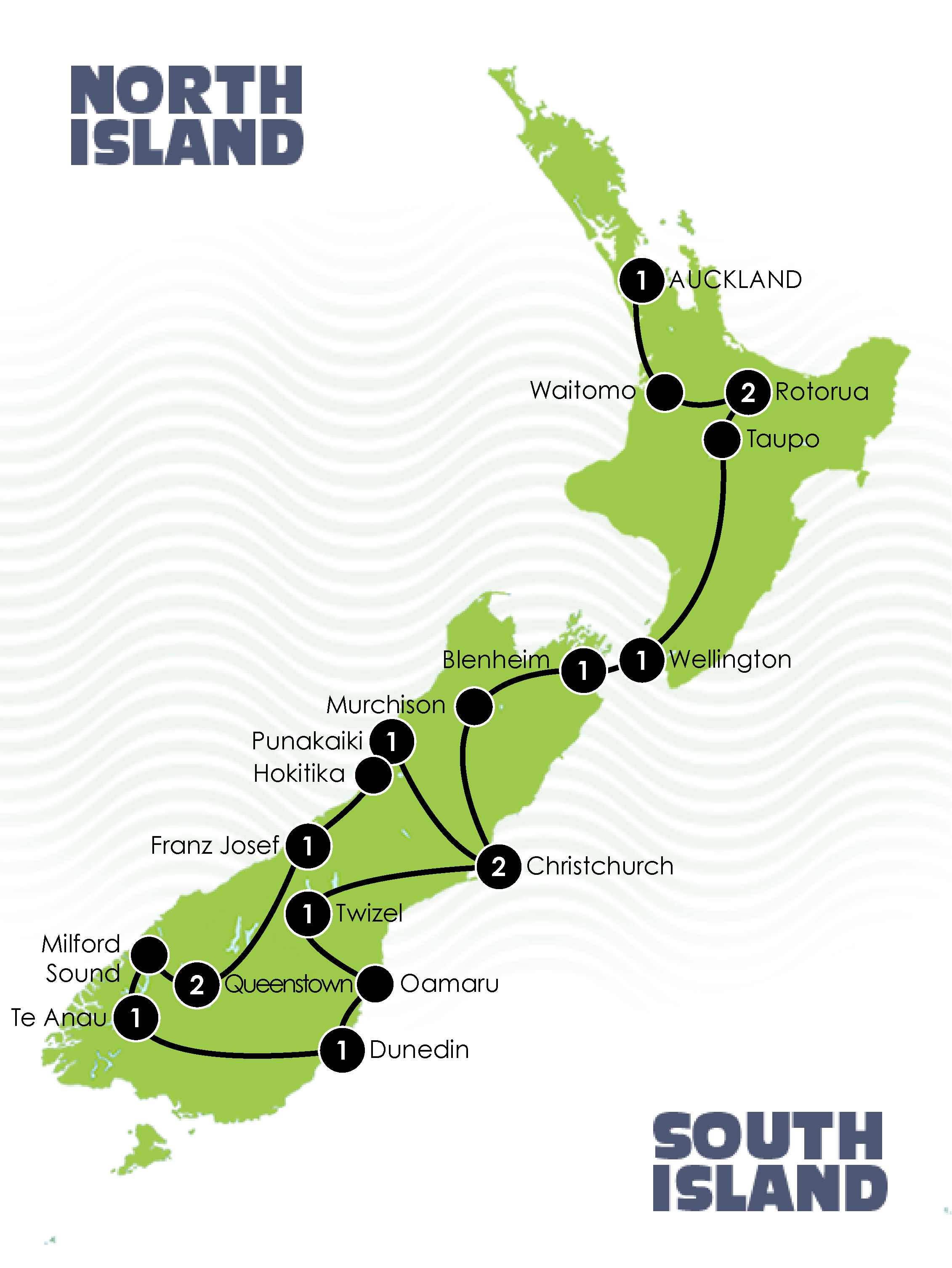 Splendid New Zealand Coach Tour