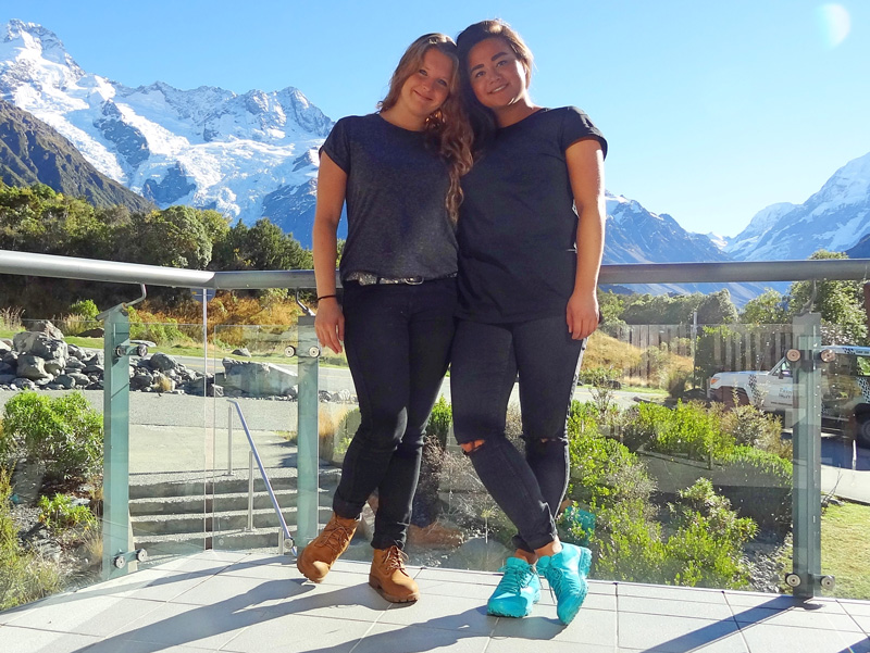 Kathleen and Lynn's South Island Road Trip