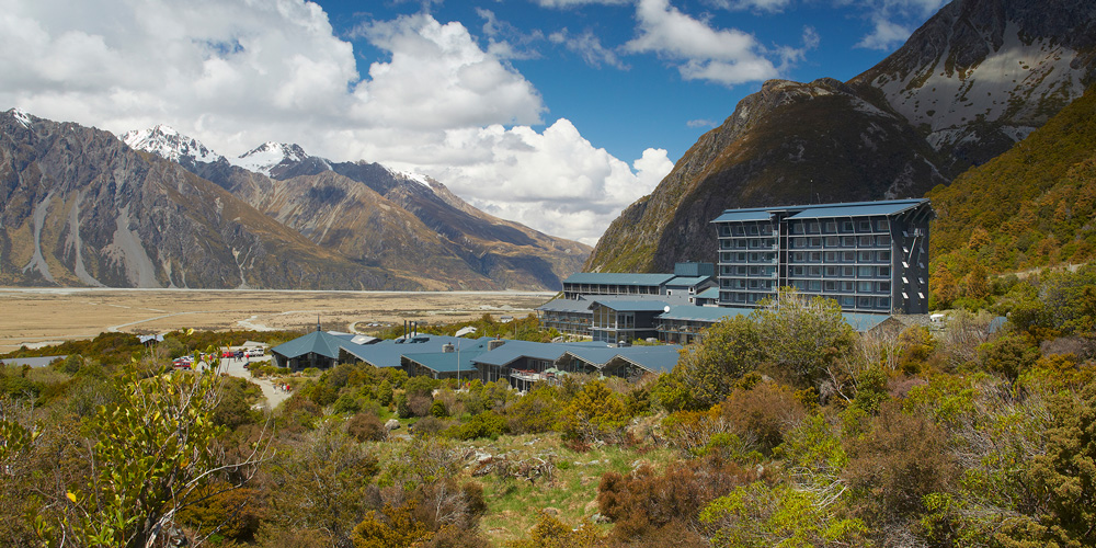 Hotel at Mt Cook