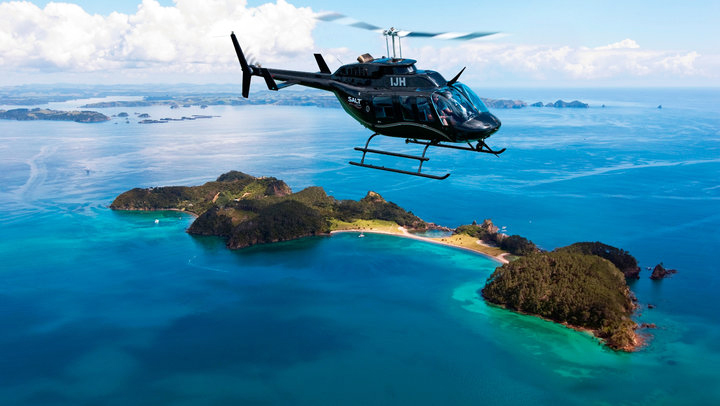 Helicopter from Paihia
