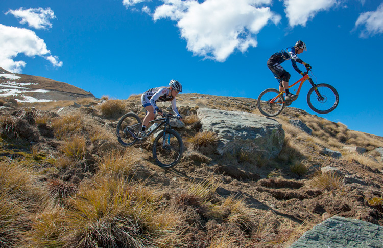 Summer Skifield Biking