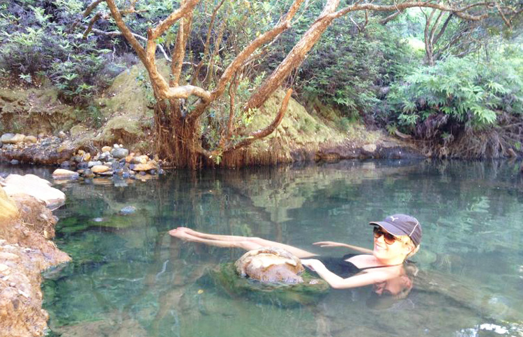 Kaitoke & Peach Tree Hot Springs