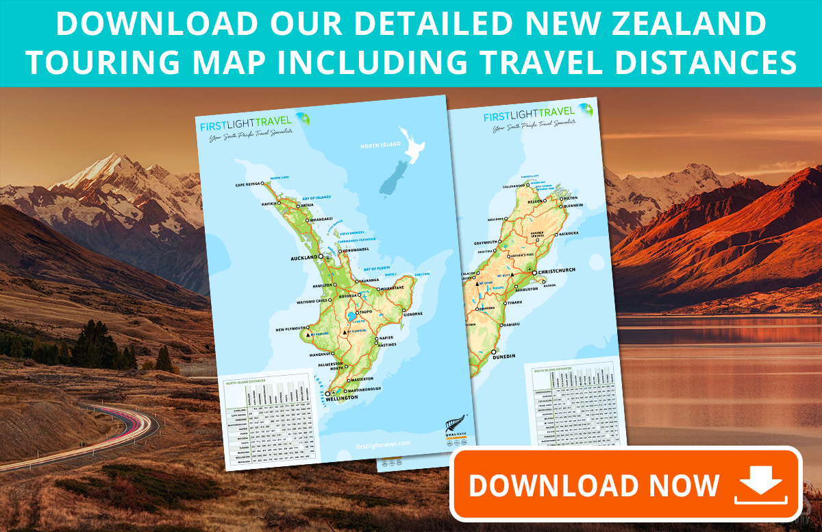 New Zealand Touring Map