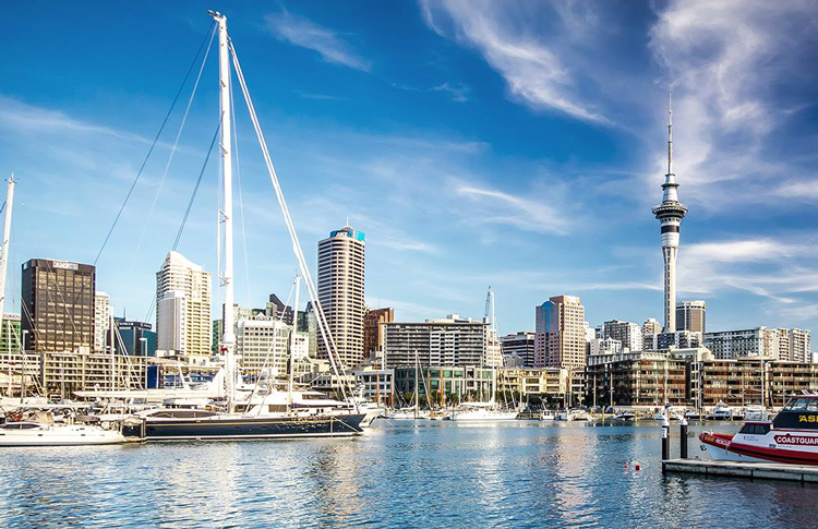 Auckland - View from the Harbour