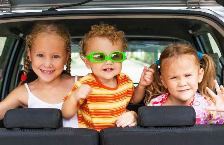 Driving in New Zealand with Children