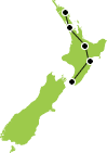 8 New Zealand Day North Island Heritage Culture Tour Map