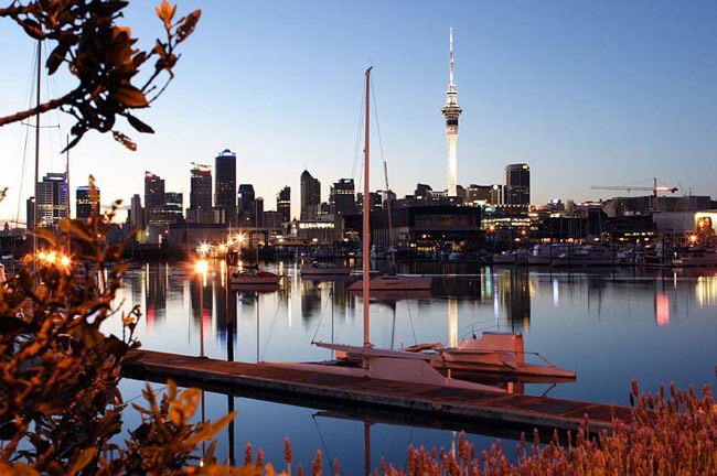 Auckland 'City of Sails'