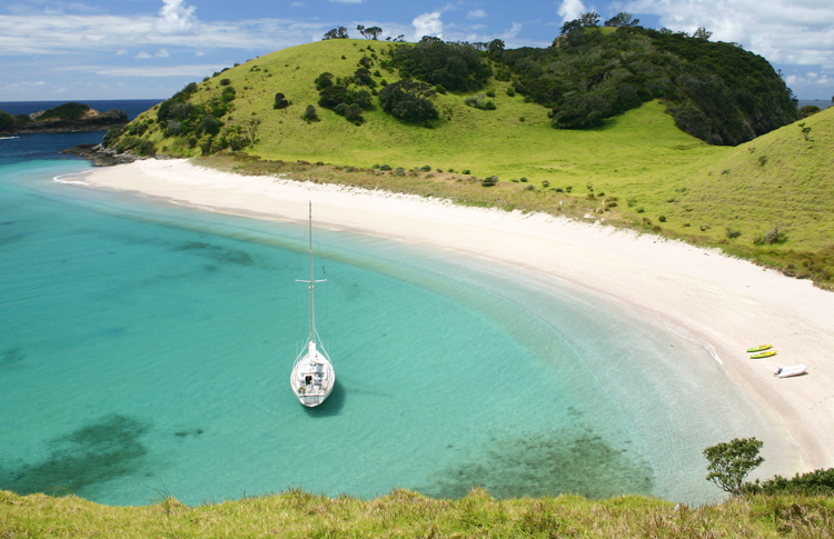 Secluded Bay in Northland