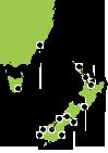 New Zealand Cruising Map
