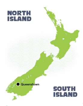 Map Of New Zealand Queenstown.Rafting In Queenstown New Zealand First Light Travel