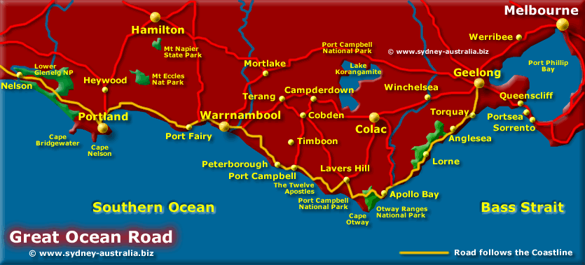 Melbourne Coastal Tours Great Ocean Road