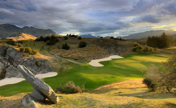 The Hills Golf Course set in a beautiful Glacial valley with mountain view vista's, Central Otago