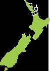 North Island New Zealand Cruise Map