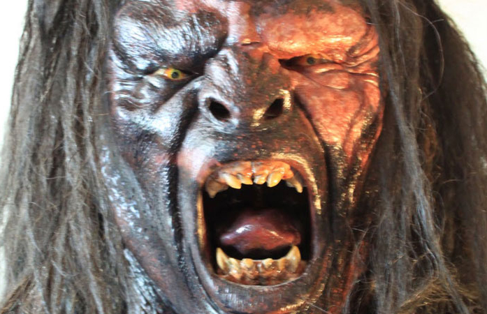 An Orc at the renowned Weta Workshop Wellington.