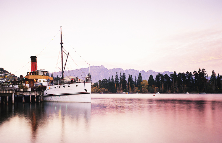 Queenstown TSS Earnslaw Steamship