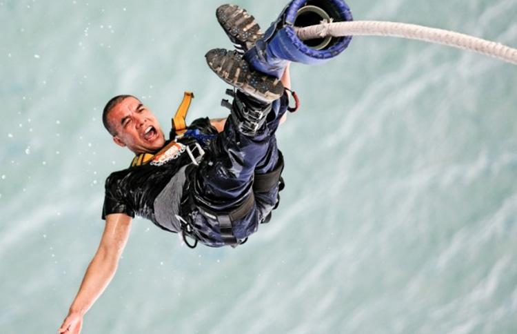 Auckland Bungy Jump - for the mad!