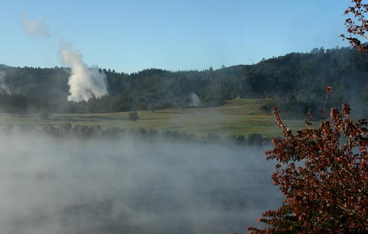 Steaming Fairway Taupo