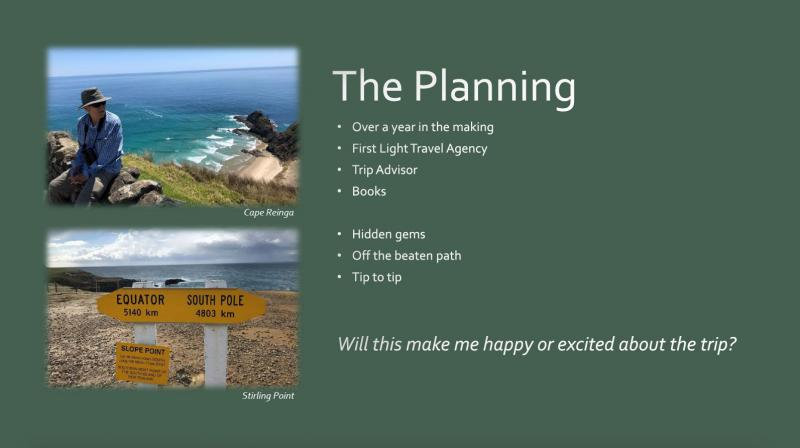 New Zealand Holiday Planning