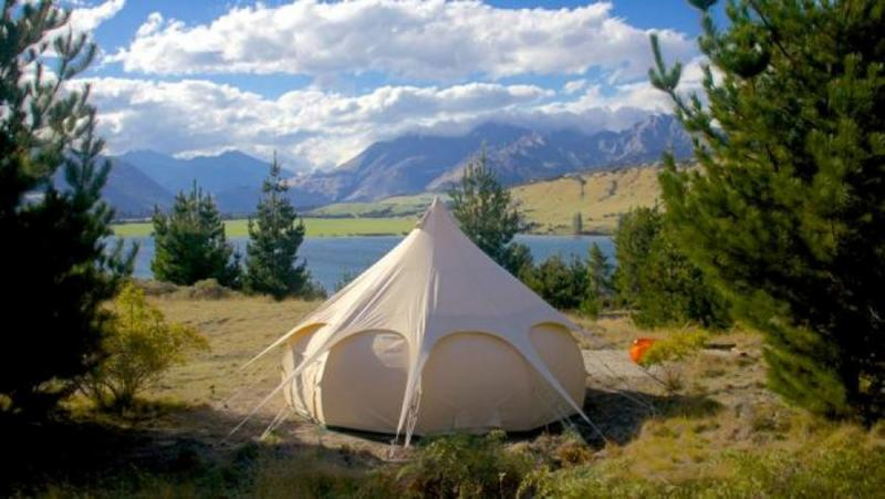 Tent in New Zealand's great outdoors