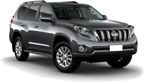 Large New Zealand rental 4WD SUV