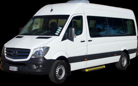 15 seat mercedes rental hire new zealand private tours for Mercedes benz minibus rental