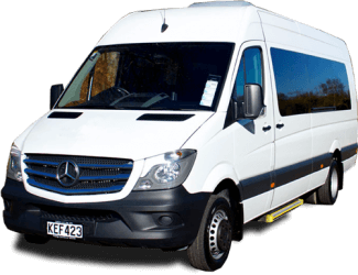 17 Seat Mercedes Benz New Zealand Hire Vehicle