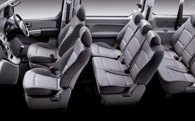 Hyundai imax seats