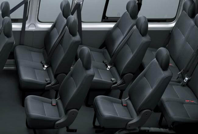 12 Seat Toyota Hiace Vehicle Hire Nz Private Guided Tours