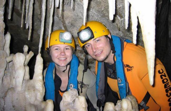 Caving in New Zealand
