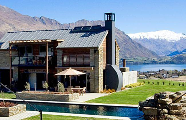 Tin Tub Luxury Lodge Lake Wanaka.