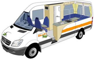 Britz Venturer Plus Cut Away