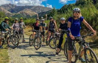 Biking Central Otago