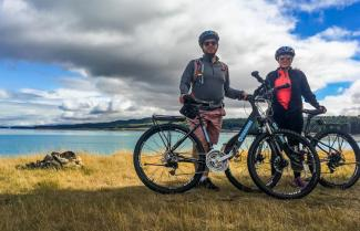 Biking Lake Pukaki
