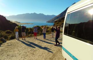 Lake Hawea Near Queenstown
