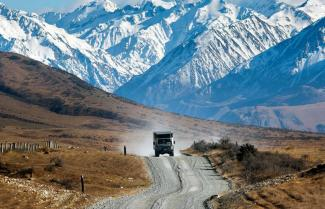 Lord of the Rings 4WD Tour into Edoras
