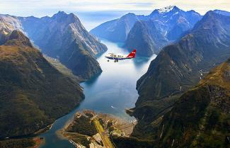 Flight Over Fiordland
