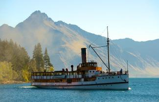 TSS Earnslaw Steamship - Queenstown