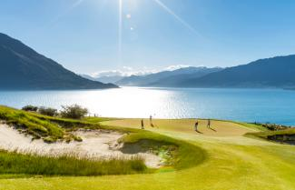 Golf in Queenstown