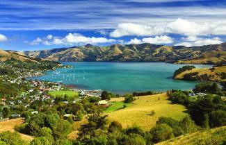 Views on the Akaroa Banks Peninsula Track