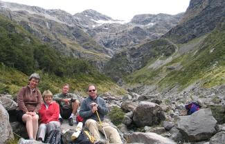 Guided Group in Arthur's Pass