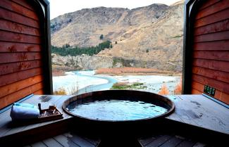 Outdoor Hot Pools Queenstown