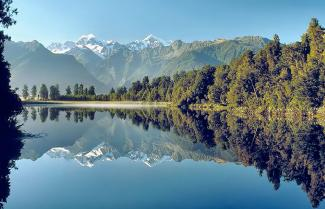 Lake Matheson, Fox Glacier