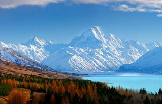 Mt Cook National Park.