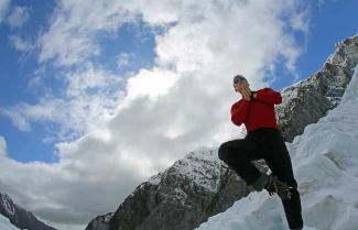 Glaciers on New Zealand's South Island Ski Tour