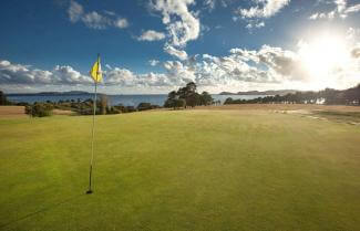 Golf at Waitangi