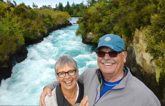 Mighty Huka Falls