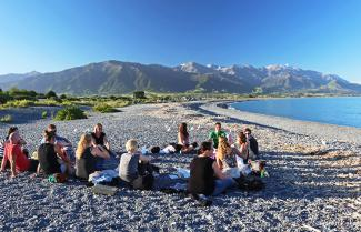 Kaikoura Beach Team Bonding