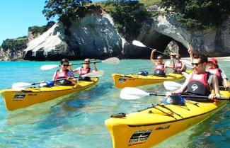 Kayaking Remote Bays in the Coromandel
