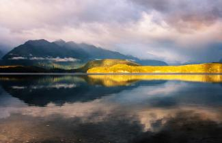 Lake Manapouri Sunrise